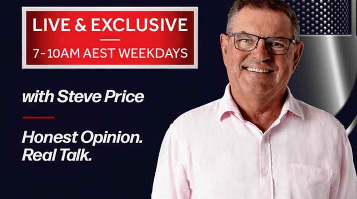 Bill Lang with Steve Price on Australia Today