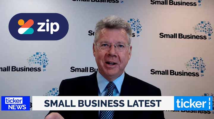 Bill Lang presenting Zip December Promotion