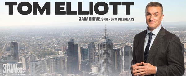 Bill Lang on 3AW with Tom Elliot