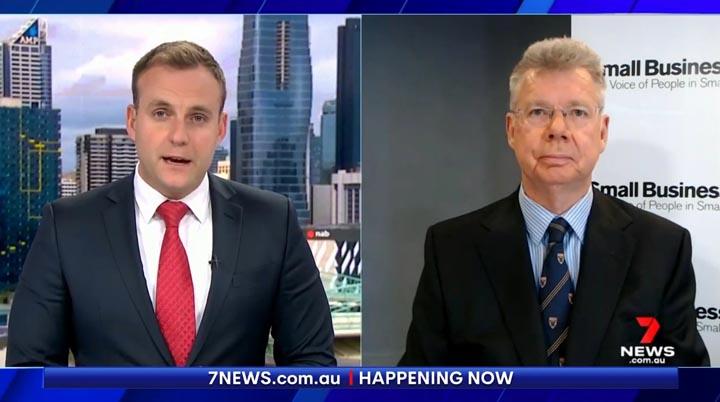 Bill Lang on Seven News