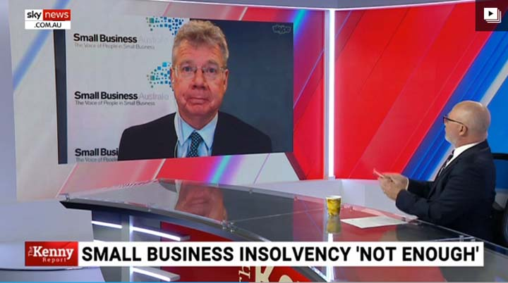 Bill Lang on Sky News The Kenny Report