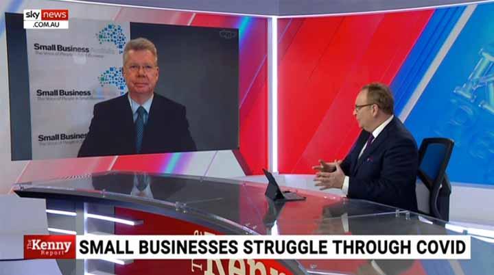 Bill Lang on Sky News