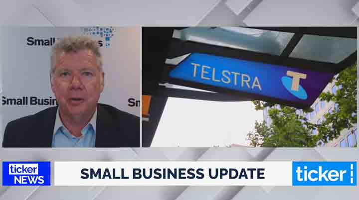Bill Lang discusses Telstra Go Digital on Ticker News
